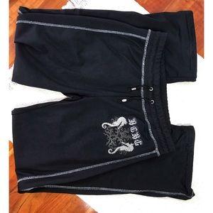 Women's Black Sweatpants BcbgMaxazria M